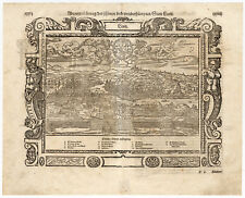 Antique Print-LYON-FRANCE-Munster-1598