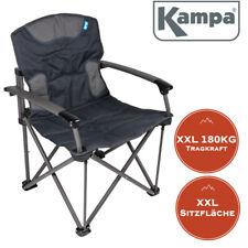 Gepolsterter Campingstuhl Lounge-Sessel Kampa EXTREMER Komfort FT0051 grün NEU
