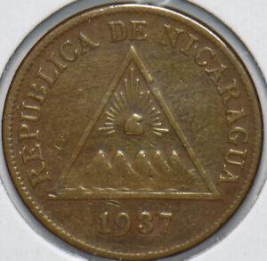 Nicaragua 1937 Centavo 192281 combine shipping