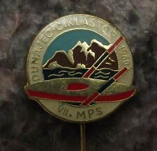 1960 International Canoe Kayak Whitewater Slalom Championships Slovak Pin Badge