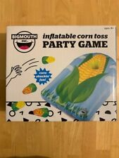 BigMouth Inflatable Corn Toss Party Game Set - Cornhole Pool float Corn Hole