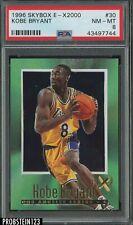 1996-97 Skybox E-X2000 #30 Kobe Bryant Lakers RC Rookie HOF PSA 8 NM-MT