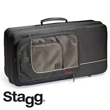 Stagg SC-TP Black Nylon Deluxe Padded Trumpet Soft Case with Ergonomic Straps