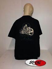 So-Cal t-shirt Jimmy Shine bike BLACK size XXL rear print hot rod 32 ford chev