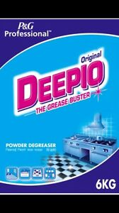 Deepio Kitchen Degreaser Washing Cleaning Powder Grease Buster 6kg