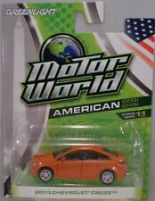 ORANGE 2013 CHEVROLET CRUZE GREENLIGHT 1:64 SCALE DIECAST METAL MODEL CAR