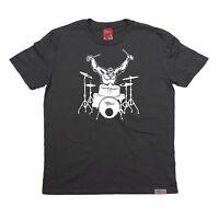 Gorilla Drummer MENS Banned Member T SHIRT tee birthday drum kit fashion