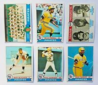 1979 Topps Pittsburgh Pirates Team Set (27 Cards) Near Mint NM