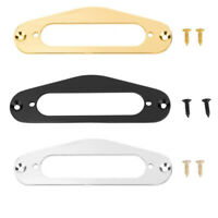 2 Pcs Guitar Pickup Frame Mounting Ring Single Coil Metal Flat Humbucker Pi
