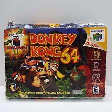 DONKEY KONG 64 (NINTENDO 64) BOX ONLY (LOOK DESCRIPTION) D700