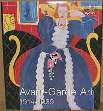 Avant-Garde Art : 1914 to 1939 by Jean-Luc Daval-1st Edition/DJ-1980-Illustrated