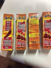 Cantina Red Tabasco Pepper Sauce 150ml (4 Bottles) New Sealed Mexicana