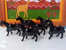 PLAYMOBIL x6 CABALLOS BATALLA 2ª GEN caballo HORSES CHEVAUX CAVALLI MEDIEVAL