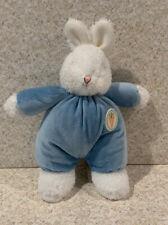 New BUNNIES BY THE BAY LITTLE CARROT BUNS BLUE Boys Baby Lovey Plush Stuffed