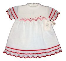 Little Wishes Baby Girl Toddler Knit Dress 18 months NEW Vintage 1980s Spain