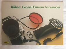 Nikon, General Camera Accessories, A5 Product Brochure