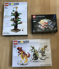 Lego 21037 40366 4000026 - Lego House / Tree / Dinosaur - New - Sealed - Rare