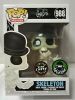 CHASE Skeleton 988 Glow GITD Corpse Bride Funko Pop Vinyl New in Box + Hard P/P