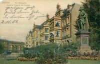 Ansichtskarte Stettin Am Königsplatz Denkmal Friedrich des Grossen 1904 (Nr.821)