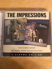 The Impressions This Is My Country/The Young Mods' Forgotten Story CD Like New
