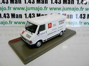 PU12 voiture 1/43 Eligor : CITROËN C35 Fourgon garagiste agent Citroën