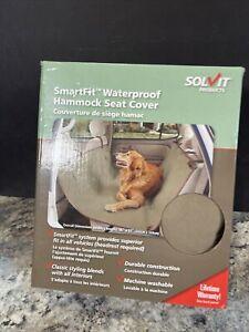 "Pet Dog Car Seat Hammock Cover 56"" x 57"" W/2 storage pockets Smartfit Waterproof"