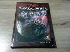 Shadowrun 5. Edition Kreuzfeuer Hardcover Pegasus Press 2016  Neu und OVP