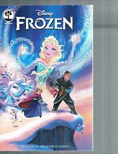 Disney Frozen: The Story of the Movie in Comics Joe Books 2015
