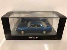 Mitsubishi Sapporo Coupe 1982 Metallic Blue 1:43 Scale Neo 43441