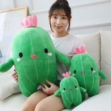 Simulation Cactus Plush Toy Soft Pillow Gift Cartoon Vegetable Cute Pillow Green