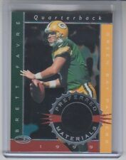 1999 Donruss Brett Favre Preferred Materials Game Used Shoe 043/300 #12 NM Cond