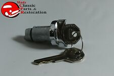 58-64 Impala Ignition Lock w/Octagon Keys Also Fits Chevelle El Camino Nova