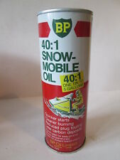 BP Snow-mobile .57 ltr tin Tin. Esso. BP. Regent Castrol.