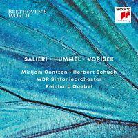 Goebel - Beethoven's World: Salieri - Hummel -Vorisek CD NEU OVP VÖ 19.06.2020