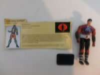 GI Joe Dreadnok Zartan Action Figure with File Card Cobra TIGHT