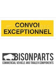 + Camion & Rimorchio Marcatore Board Convoi semplicemente in alluminio 1200x400MM BP76-178