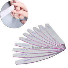10pcs Nail Files Buffer Shiner Polisher Pro Art Pedicure Manicure Tool 100/180
