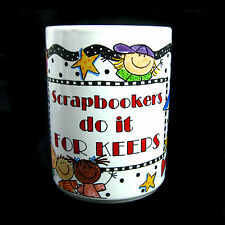 Scrapbookers Do It For Keeps Mug Child's Artwork Me & My Big Ideas MAMBI Cup