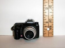 MINIATURE TOY BLACK CAMERA ACCESSORY FOR 18 INCH DOLLS retired