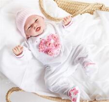 "JC Toys Valentina 20"" Soft Body Full Vinyl Limbs Baby Girl Berenguer Doll # 260"