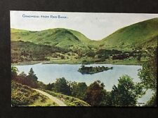 Vintage Postcard - Cumberland #28 - RP Grasmere From Red Bank - Photochrom