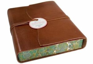 Firenze Classico Leather Journal Tuscan Sun, A5 Plain Pages - Handmade in Italy