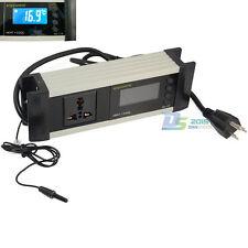 110V Digital LCD Thermostat Reptile Aquarium Temperature Controller Switch Ultra