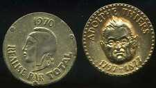 jeton  total  1970  ADOLPHE THIERS    1797 - 1877  ( bis )