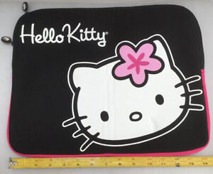"""Hello Kitty Universal 14"""" X 11"""" Tablet iPad Sleeve - Zippered Carrying Case Mint"""