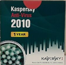Kaspersky Antivirus CD 1 PC NEW