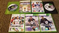 (Lot of 7) FIFA Soccer Xbox 360 Games