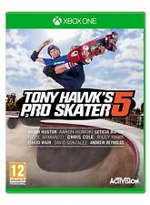 Xbox One Game Tony Hawk's Pro Skater 5 Skateboarding New