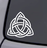 CELTIC KNOT TRIQUETRA Vinyl Decal Sticker Car Window Wall Bumper Home Decor Logo