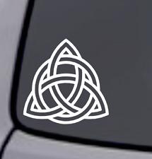 CELTIC KNOT TRIQUETRA Vinyl Decal Sticker Car Window Wall Bumper Home Decor Logo